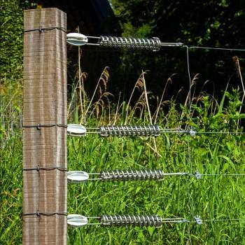 Stahlspannfeder für 2,5 mm - 2,65 mm Draht (EquiFence)