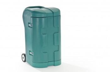 Sattelschrank aus Kunststoff