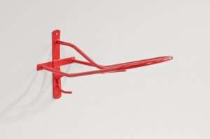 Sattelhalter, Metall, KS beschichtet Rot