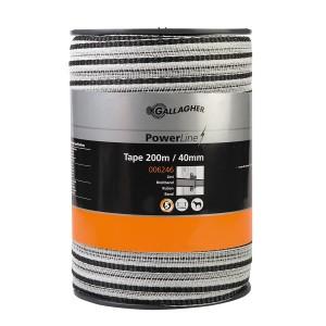 Powerline-Breitband 40 mm - 200 m Weiß