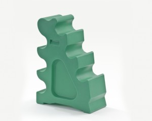 Horseblock aus Kunststoff Grün