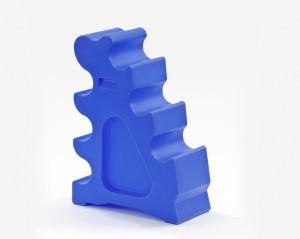 Horseblock aus Kunststoff Blau