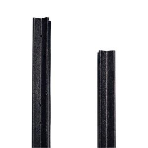Ecopfahl Kreuzprofil 150 x 7cm schwarz
