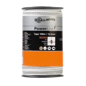 PowerLine Breitband 12,5 mm 100 m weiß