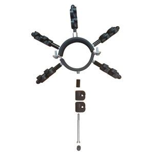 Regenrohrschelle Isolator Marder Kit