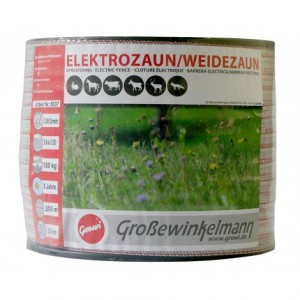 Growi SuperLine Breitband Elektrozaun 200 m / 20 mm