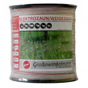 Growi SuperLine Breitband Elektrozaun 200 m / 40 mm