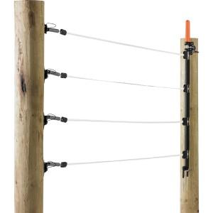 Multi-Leiter-Tor 4 x 12,5 mm Breitband in weiß