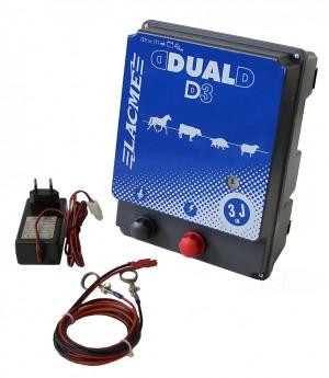 Weidezaungerät DUAL Power D3