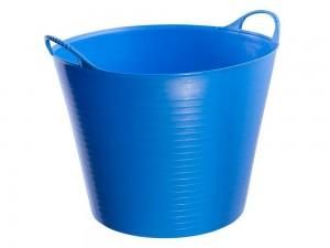 Elabag-Futtertrog 38 Liter Blau
