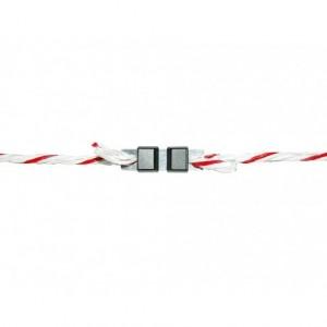 Litzclip Kordelverbinder 6 mm