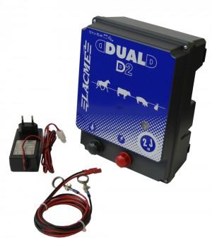 Weidezaungerät DUAL Power D2