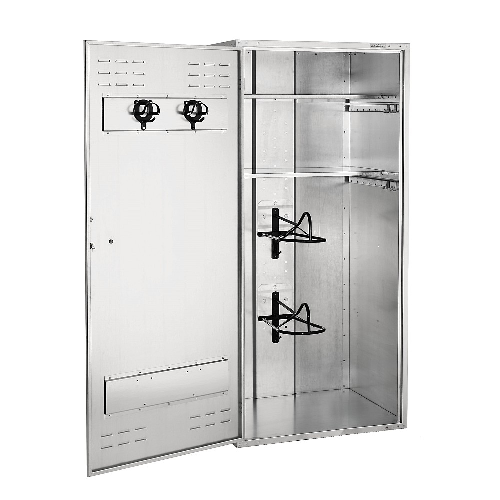 Growi Sattelschrank 900 x 750 mm Zylinderschloss / Englisch / 1,90 m