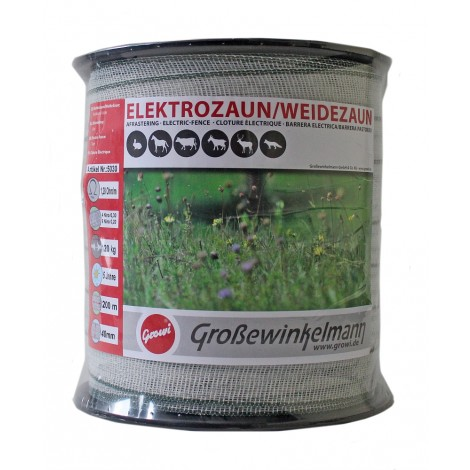 Growi CraftLine Breitband Elektrozaun 200 m / 40 mm
